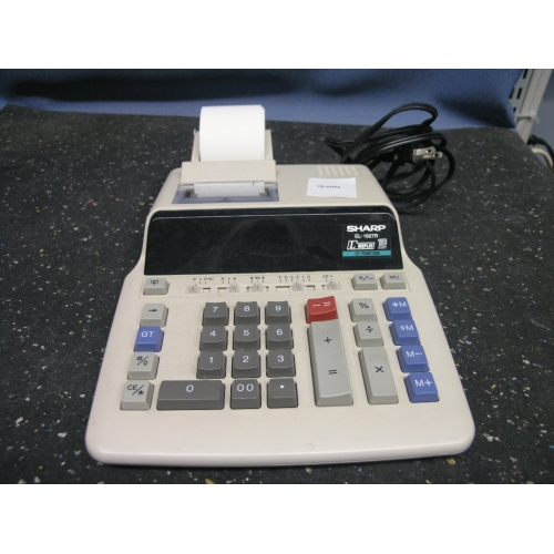 Sharp El 2670riii Printing Calculator Adding Machine