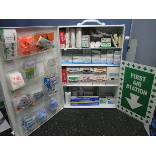 Fully Stocked Zee First Aid Safety Kit W Sign Allsold Ca