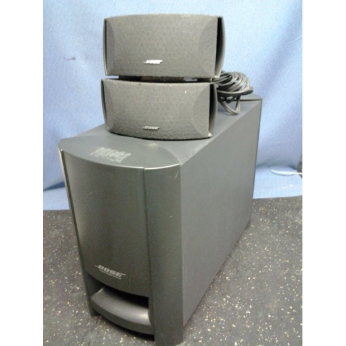 Bose Ps3 1 Ii Powered Speaker System Subwoofer W 2
