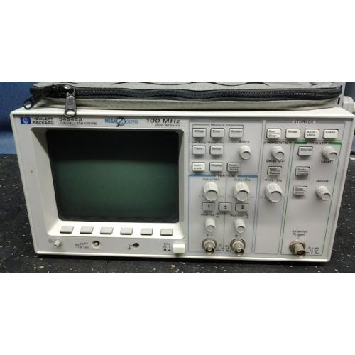 Hp Digital Oscilloscope : Hp agilent a mhz msa s digital oscilloscope