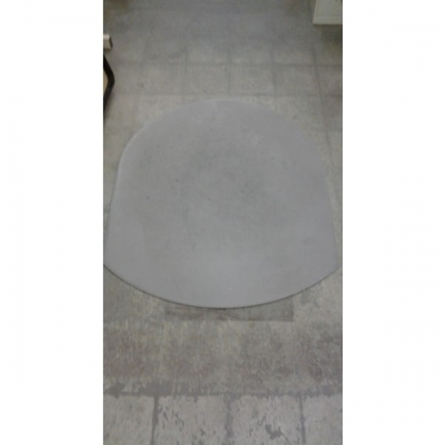 Grey Static Mat Under Chair Floor Protector 47 Quot X 56 5