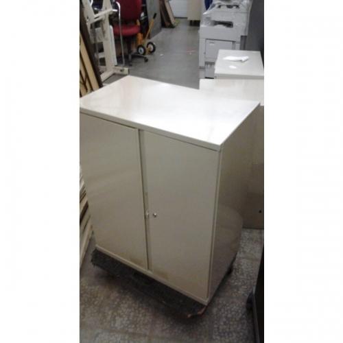2 Door Lockable Wall Mountable Storage Cabinet 30 X 36 X