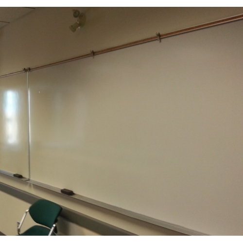119 Quot X 48 Quot Magnetic Whiteboard W Chrome Border Amp Bottom