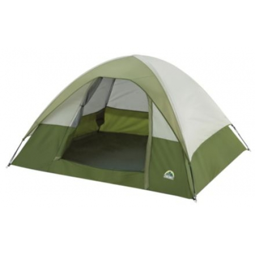 Escort 2 Person Dome Tent W Poles And Carrying Bag