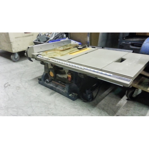 Ryobi 10 table saw with removable stand fence guard buy sell used office Table saw guards