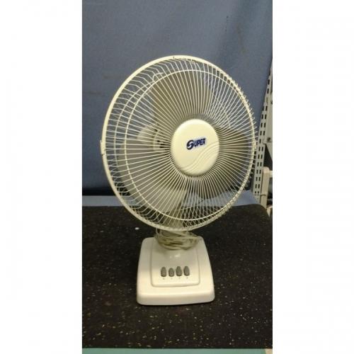 Super 12 Quot Oscillating Desk Fan Model 12dfs Allsold Ca