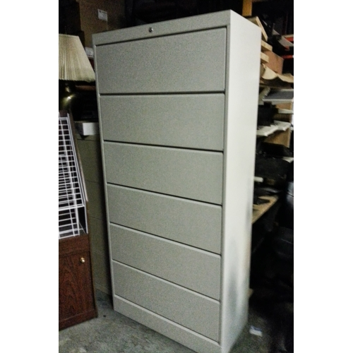 6 Drawer Tab Flip Front File Cabinet Locking 36 Quot X 17 Quot X
