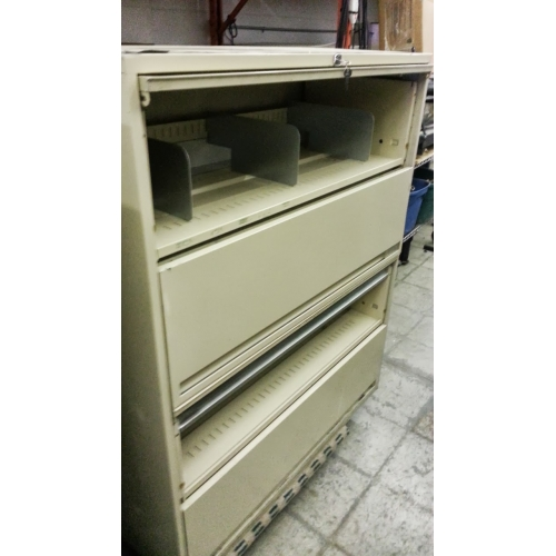 Used Kitchen Cabinets Calgary: 4 Drawer Flip Front Cabinet Tan