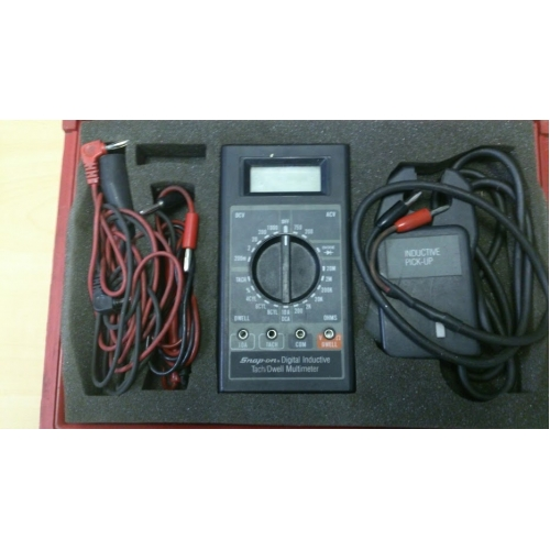 Snap On Multimeter : Snap on digital inductive tach dwell multimeter