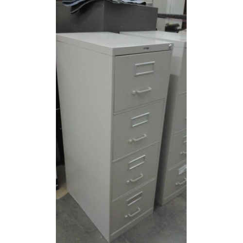 Staples 4 Drawer Vertical Locking File Cabinet 18 Quot X 26 1