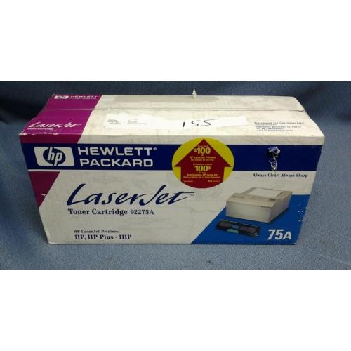 Hp laserjet black toner cartridge 92275a for 92275a