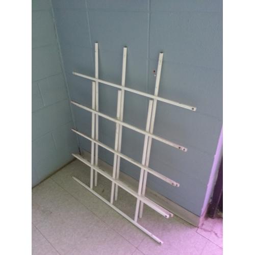 Retail Window Solid Steel Security Bars (2 Windows, 1 Door