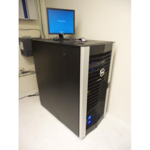Dell Poweredge 2420 24u Server Rack Enclosure W Dual Ups