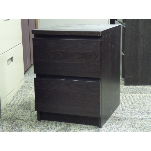 Ikea Malm Espresso 3 Drawer Dresser And Bed Side Table Set