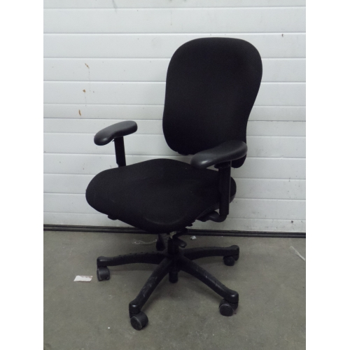 Knoll 2000 Black High Back Rolling Adjustable Task Chair