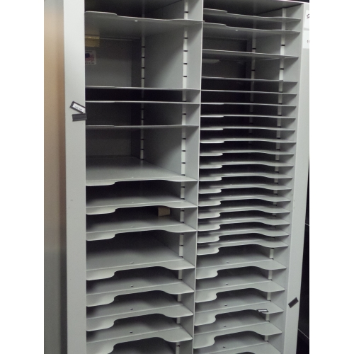 Grey Metal High Density Pigeon Hole Paper And Mail Sorter