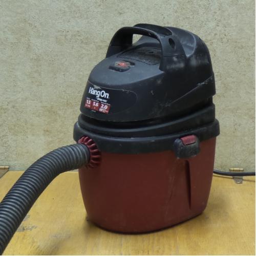 Shop Vac 1 5 Gallon 2 0 Peak Hangon Wet Dry Vacuum