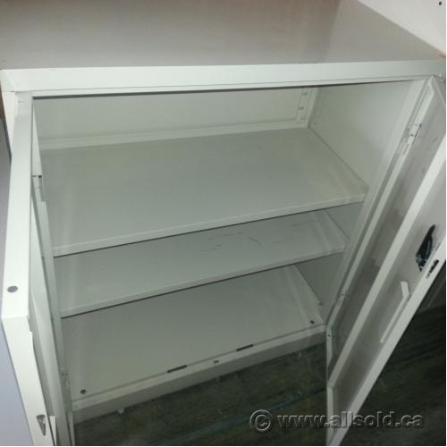 Used Kitchen Cabinets Calgary: Steelcase Tan 2 Door Storage Cabinet, Locking