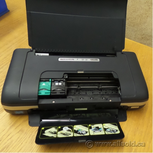 Hp Officejet H470 Portable Mobile Laptop Inkjet Printer