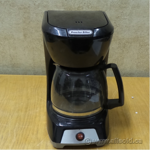 proctor silex 12 cup coffee maker with pot. Black Bedroom Furniture Sets. Home Design Ideas
