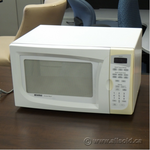 Kenmore White Circular Wave 1 1 Cu Ft 1100 Watt Microwave
