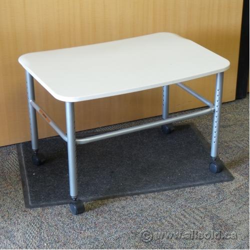 Herman Miller Resolve Adjustable Height Rolling Side Table