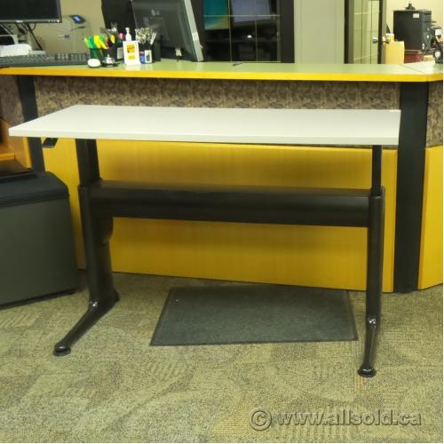 Herman Miller Grey Height Adjustable Sit Stand Straight