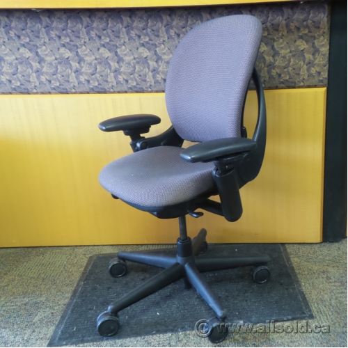 Steelcase leap dusty rose adjustable ergonomic task chair - Steelcase leap ergonomic office chair ...