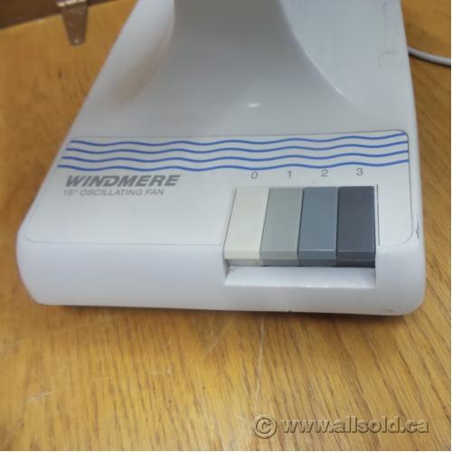 Windmere 7 Oscillating Fan : Windmere df speed oscillating desk fan allsold