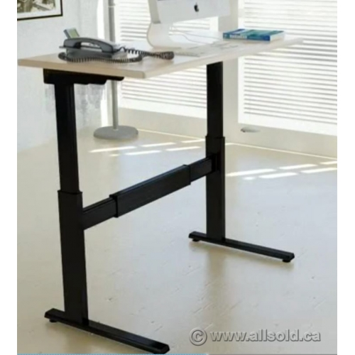 Treadmill Desk Calgary: Powered Height Adjustable Sit Stand Desk
