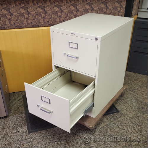 Used Kitchen Cabinets Calgary: Hon Beige 2 Drawer Vertical Filing Cabinet