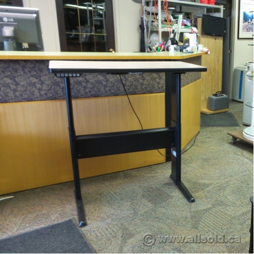 Powered Height Adjustable Sit Stand Desk Allsold Ca