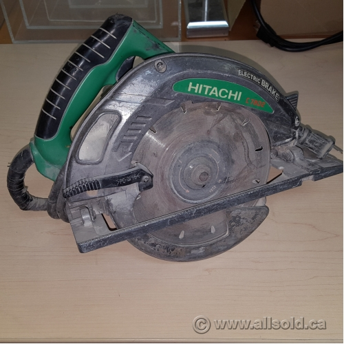 Hitachi 15 Amp 7 1 4 In Corded Circular Saw Allsold Ca