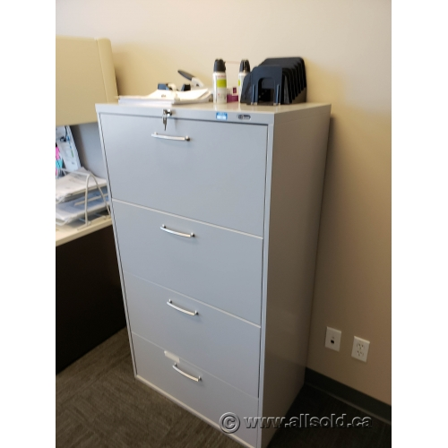 Used Kitchen Cabinets Calgary: Grey Prosource 4 Drawer Lateral File Cabinet