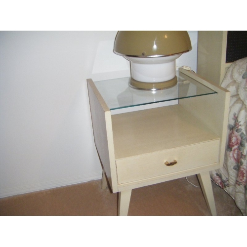 Retro Bedroom Suite White Washed Buy Sell Used Office Furniture Calgary