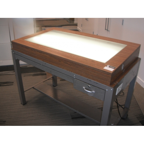 plan light table  tracing table desk - allsold ca