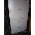 Binder Data File and Filing Cabinet Combo 4 Drawers