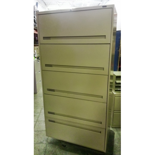 Used Kitchen Cabinets Calgary: 5 Drawer Flip Cabinet Tan