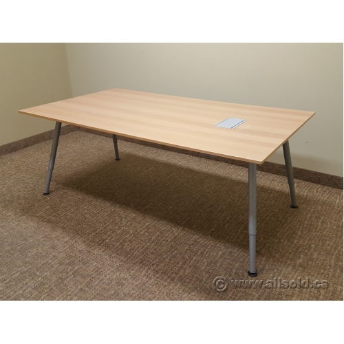 Ikea Galant Conference Meeting Board Table 6 With Data