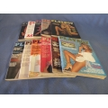 Lot of 11 Playboy Magazine 1978