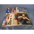 Complete Lot of 12 Playboy Magazine 1987