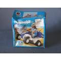Playmobil Police Racer 3655 Pullback Motor