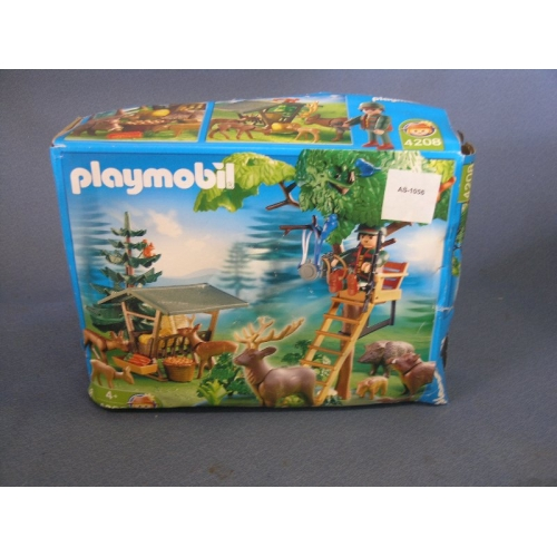 Playmobil forest ranger post 4208 buy for Playmobil post
