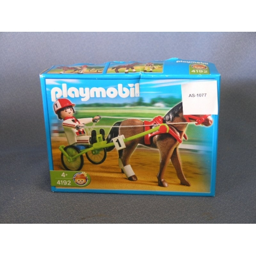 Lot Of 3 Playmobil Horse Jockey 4192 Allsold Ca Buy
