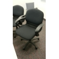 Steelcase Black Sensor Gas Adjustable Task Meeting Chair