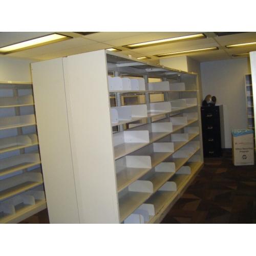 Tennsco Open Shelf Tab File Shelving Amp Rolling Systems