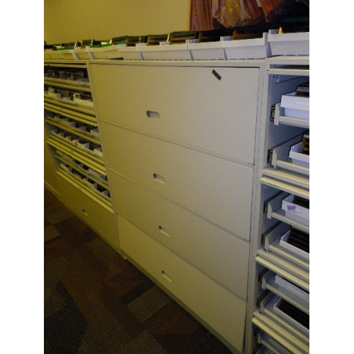 Used Kitchen Cabinets Calgary: Heavy Duty Tool Storage Repurposed Microfiche Cabinets