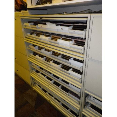 Heavy Duty Tool Storage Repurposed Microfiche Cabinets
