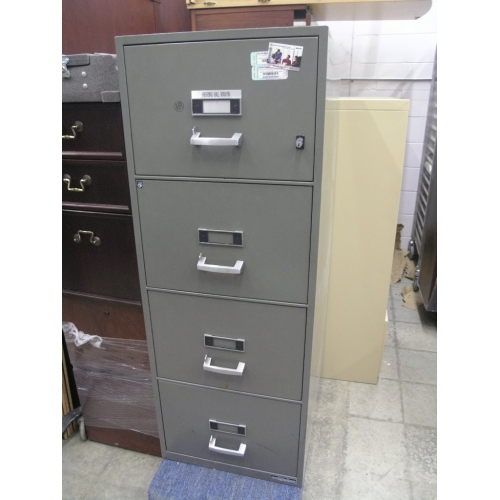 Used Kitchen Cabinets Calgary: Fire Proof 4 Drawer Vertical File Cabinet