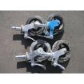 MetalTech Scaffold Castors, Set of 4